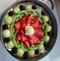 Giant Fruit Tart by lopezgdlp