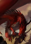 Red Dragon by LhuvIk