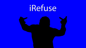 iRefuse-Blue by hexdef101