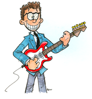 Buddy Holly by hankinstein