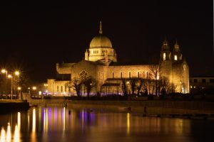 Galway Cathedral at Night by Esteficita