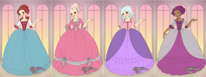 Marie Antoinette Dress Up by Ennayenaled