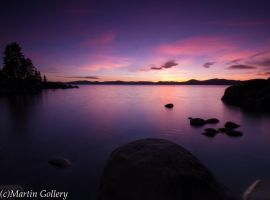 Sand Harbor Nevada Sunset130310-33 by MartinGollery