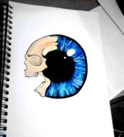 I can see death in your eyes. by SophFeeGee
