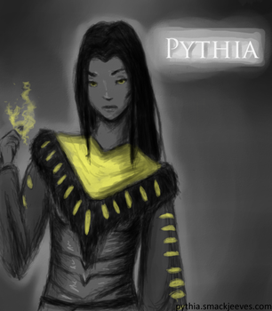Pythia Chapter 1 Cover by Andrani