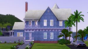 Sims 3 Victorian blues by RamboRocky