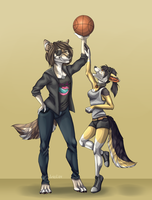 Basketball by EAM0