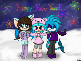 Happy new year! by BatGirl5