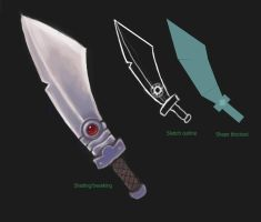 Sword Concept 2 by JohnnySix