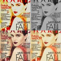 Emma Watson VOGUE by England-Stamps