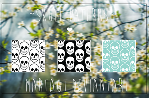 ~ Skull Patterns ~ by CimFamSkrillete