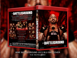 WWE BattleGround 2013 Blu-Ray Cover by thetrans4med