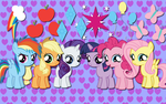 My little Fillies wallpaper by AliceHumanSacrifice0