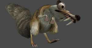 ICEAGE 3 SCRAT FULLY POSEABLE by Oo-FiL-oO