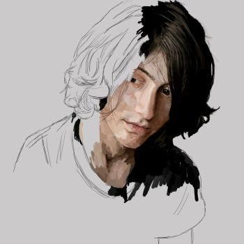 Alex Turner by JIOISIHI