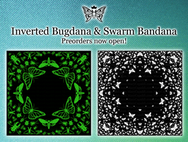 Inverted Bugdana and Swarm Bandana by MaryCapaldi