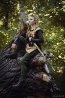 Vikings: Lagertha by LeaLeigh