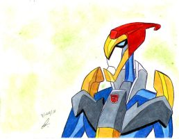 Swoop transformer animated by ailgara