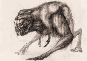 Werewolf by LindseyWArt