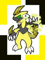 Thunder Dragon Lv1 by ObsidianWolf7