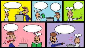 Fill in the Word Balloons by AVRICCI