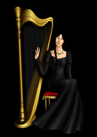 StS - The Harpist by OkuniSensei
