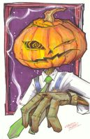 marker : Merv Pumpkinhead by KidNotorious