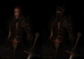 Warrion Woman Two Views by shade-of-wolf