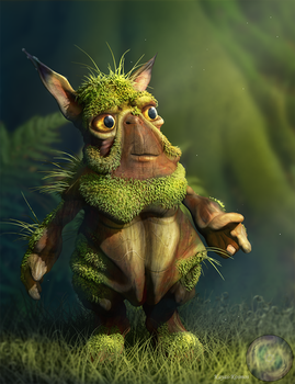 Hobbler troll. by Kayas-Kosmos