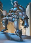 wolverine on a roof top by ifan80
