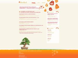 Ekoskol website by plechi