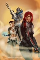 ME3: Cowboys From Hell by tiikay