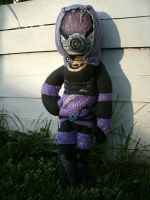 Mass Effect - Tali Plush 1 by daggerhime