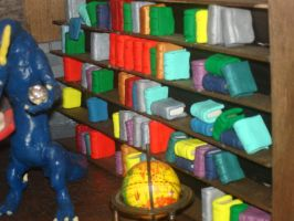Diarama: The Library 5 of 6 by Rasiel-Draconis