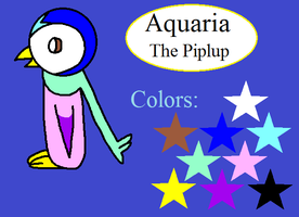 Ref sheet - Aquaria by Piplup-Luv