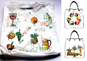 shopping bag range by thematthewholland