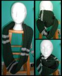 Harry Potter Slytherin Infinity Scarf by Craftigurumi