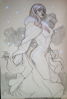 Emma Frost NYCC 2015 by TerryDodson
