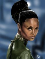 Thandie Newton by lordnemos