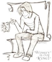 Weasely is our King - HP by lberghol