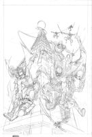 Red Robin 2 Pencils by manapul