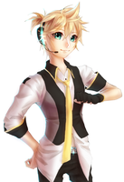 Len Kagamine by My-Magic-Dream