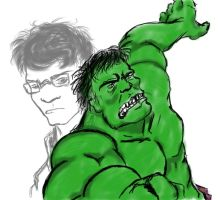The Incredible HULK by Ederek-Cole