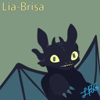 Toothless by lia-brisa