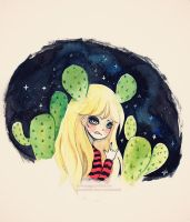 Cactus girl by LoveSoup