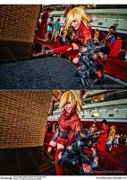 Hellsing Cosplay: Seras Victoria, The Vampire by Redustrial-Ruin