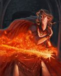 Gout of Flame by AaronMiller