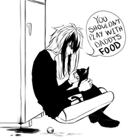 Daddy's food by Chami-ryokuroi