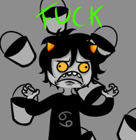 STAWP KARKAT GIF by GrimmBunny