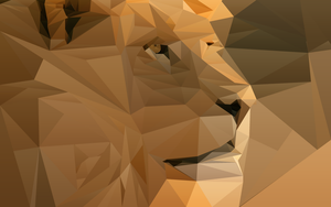 Wallpaper Lion by DesignTest